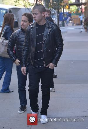 Nick Jonas - Nick Jonas leaving his hotel in New York - Manhattan, New York, United States - Monday 5th...