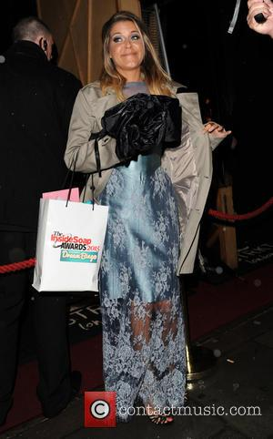 gemma oaten - Inside Soap Awards 2015 - Outside - London, United Kingdom - Monday 5th October 2015