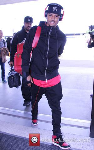 Trey Songz - Trey Songz arrives at Los Angeles International (LAX) Airport at LAX - Los Angeles, California, United States...