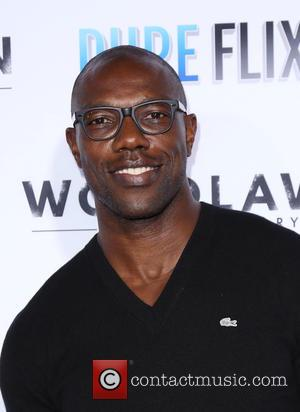 Terrell Owens - 'Woodlawn' premiere at the Bruin Theatre in Westwood - Arrivals - Los Angeles, California, United States -...