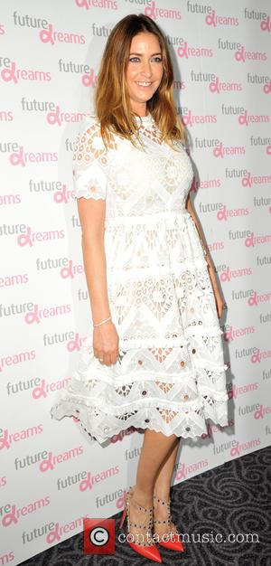 Lisa Snowdon , Mel C - Future Dreams fundraiser lunch - Arrivals at Savoy Hotel - London, United Kingdom -...
