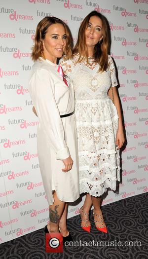 Lisa Snowdon, Mel Chishom , Mel C - Future Dreams fundraiser lunch - Arrivals at Savoy Hotel - London, United...