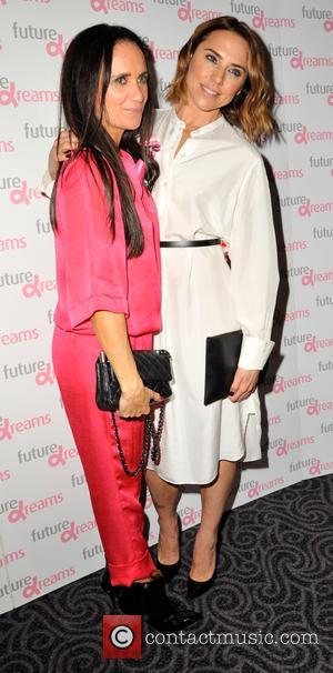 Mel Chishom , Mel C - Future Dreams fundraiser lunch - Arrivals at Savoy Hotel - London, United Kingdom -...
