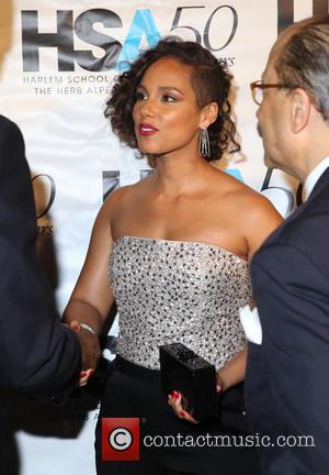 Alicia Keys - Harlem School of the Arts (HSA) 50th Anniversary Gala Kickoff in the Grand Ballroom at The Plaza...