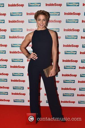 Gemma Atkinson - Inside Soap Awards 2015 held at the DSTRKT. - London, United Kingdom - Monday 5th October 2015