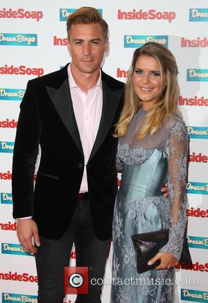 Gemma Oaten , Matt Evers - Inside Soap Awards held at DSTRKT London - Arrivals - London, United Kingdom -...