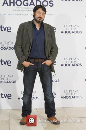 Carmelo Gomez - 'La Playa de los Ahogados' photocall at Princesa Cinema on October 5, 2015 in Madrid, Spain. -...