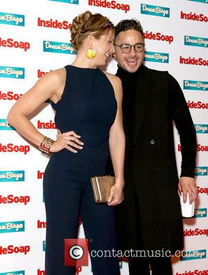 Gemma Atkinson and Adam Thomas