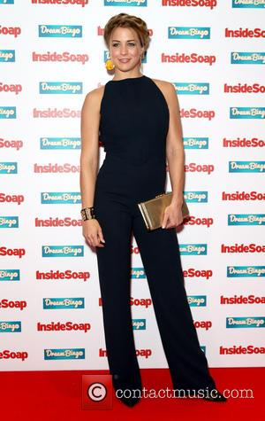 Gemma Atkinson - Inside Soap Awards Arrivals at DSTRKT - London, United Kingdom - Tuesday 6th October 2015