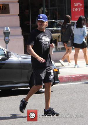 Sean Stewart - Sean Stewart drinks a health shake while out and about in Beverly Hills at beverly hills -...