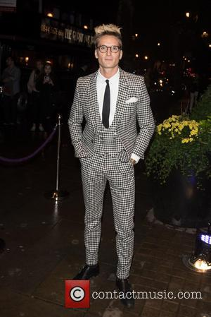 Oliver Proudlock - Specsavers' Spectacle Wearer of the Year held at 8 Northumberland Avenue. - London, United Kingdom - Tuesday...