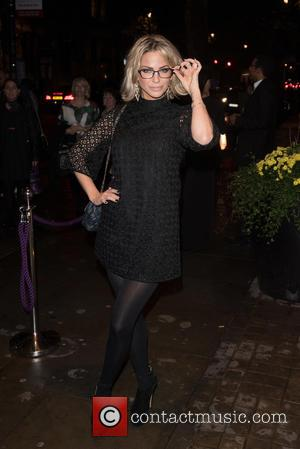 Sarah Harding - Specsavers' Spectacle Wearer of the Year held at 8 Northumberland Avenue. - London, United Kingdom - Tuesday...