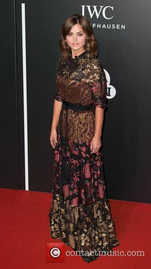 Jenna Coleman - The BFI LUMINOUS Gala dinner held at the Guildhall - Arrivals at Guildhall - London, United Kingdom...