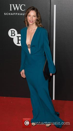 Sienna Guillory - The BFI LUMINOUS Gala dinner held at the Guildhall - Arrivals at Guildhall - London, United Kingdom...