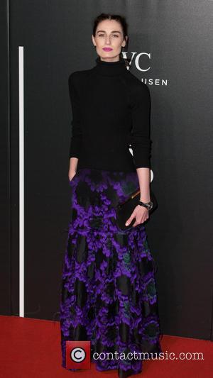 Erin O'Connor - The British Film Institute's LUMINOUS gala dinner held at Guildhall - Arrivals at Guildhall - London, United...