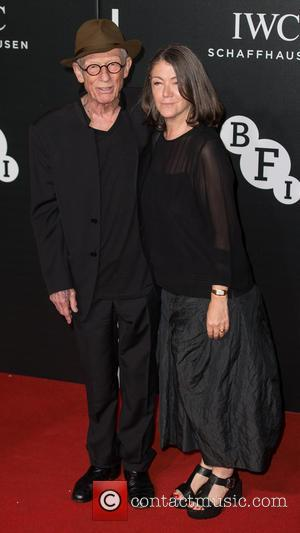 Sir John Hurt , Anwen Rees-Myers - The British Film Institute's LUMINOUS gala dinner held at Guildhall - Arrivals at...