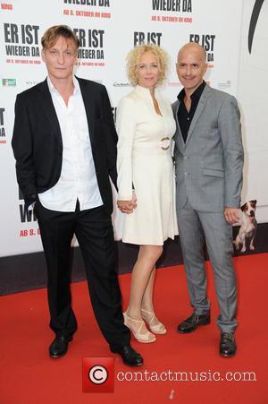 Oliver Masucci, Katja Riemann and Christoph Maria Herbst