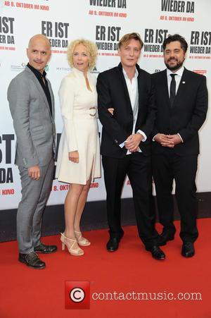 Christoph Maria Herbst, Katja Riemann, Oliver Masucci , David Wnendt - World premiere of 'Er ist wieder da' at Zoo...