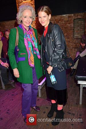 Isa Graefin von Hardenberg , Aino Laberenz - Celebrities at Bob Geldof's live concert at gay club Schwuz. - Berlin,...