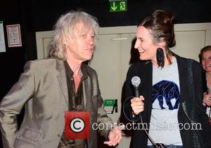 Bob Geldof , Tita von Hardenberg - Celebrities at Bob Geldof's live concert at gay club Schwuz. - Berlin, Germany...