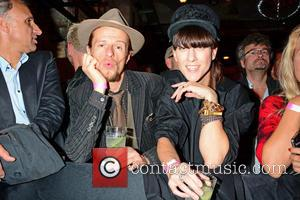 Esther Perbandt , Alexander Scheer - Celebrities at Bob Geldof's live concert at gay club Schwuz. - Berlin, Germany -...
