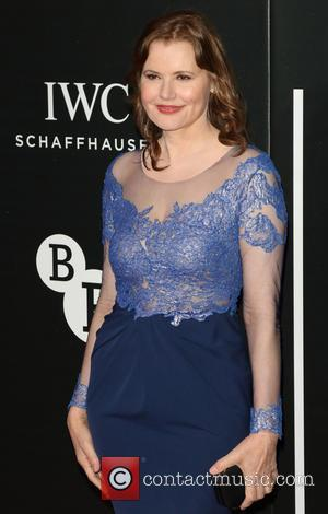 Geena Davis - The British Film Institute's LUMINOUS gala dinner held at Guildhall - Arrivals at Guildhall, London - London,...