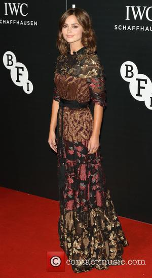 Jenna Coleman - The British Film Institute's LUMINOUS gala dinner held at Guildhall - Arrivals at Guildhall, London - London,...