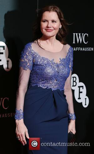 Geena Davis - BFI LUMINOUS Gala dinner held at Guildhall - Arrivals - London, United Kingdom - Tuesday 6th October...