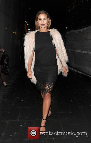 Ferne McCann - Celebrities out and about in Soho - London, United Kingdom - Tuesday 6th October 2015