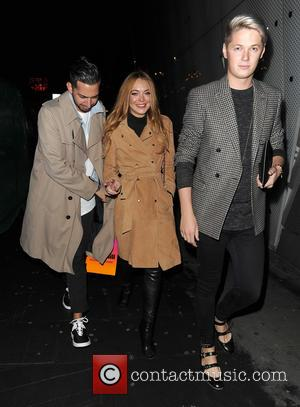Lindsay Lohan - Celebrities out and about in Soho - London, United Kingdom - Tuesday 6th October 2015