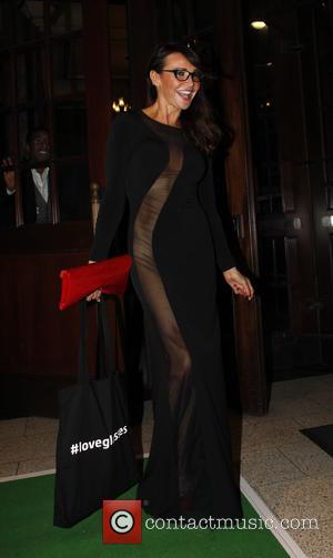 Lizzie Cundy - Specsavers' Spectacle Wearer of the Year awards held at 8 Northumberland Avenue - London, United Kingdom -...