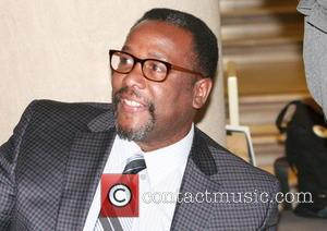Wendell Pierce - Wendell Pierce signs copies of his new book at the Free Library of Philadelphia - Philadelphia, Pennsylvania,...