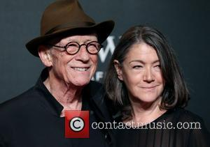John Hurt , Anwen Rees-Myers - BFI LUMINOUS Gala dinner held at Guildhall - Arrivals - London, United Kingdom -...