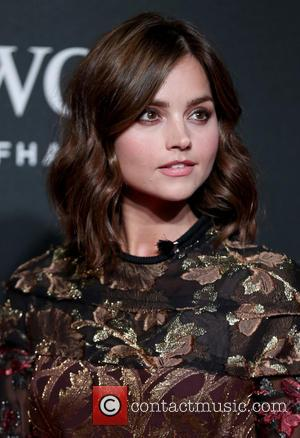 Jenna Coleman - BFI LUMINOUS Gala dinner held at Guildhall - Arrivals - London, United Kingdom - Tuesday 6th October...