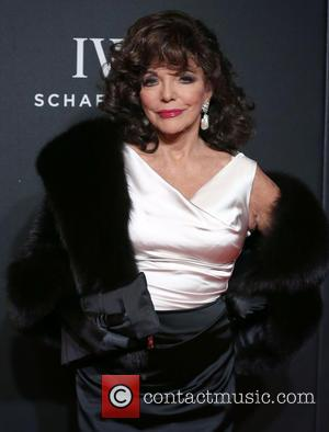 Joan Collins - BFI LUMINOUS Gala dinner held at Guildhall - Arrivals - London, United Kingdom - Tuesday 6th October...