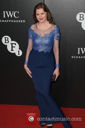 Geena Davis - The BFI LUMINOUS Gala dinner held at the Guildhall - Arrivals at Guildhall - London, United Kingdom...