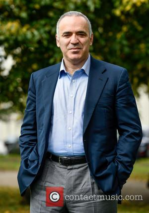Garry Kasparov - Cheltenham Literature Festival - Day 5 at Cheltenham - Cheltenham, United Kingdom - Tuesday 6th October 2015