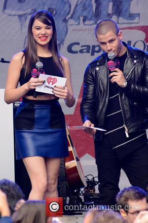 Hailee Steinfeld , Nick Jonas - Z100's Jingle Ball 2015 Kick Off Event - New York, United States - Tuesday...