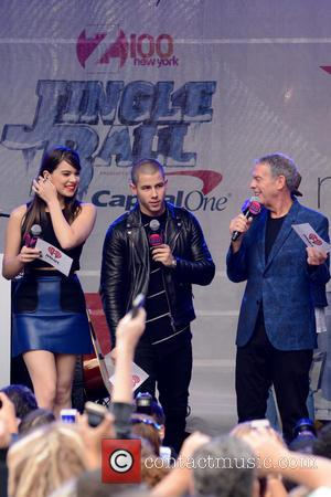 Hailee Steinfeld, Nick Jonas , Elvis Duran - Z100's Jingle Ball 2015 Kick Off Event - New York, United States...