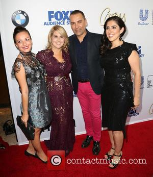 Lucero, Guest, Ebby Antigua and Shirley Velasquez