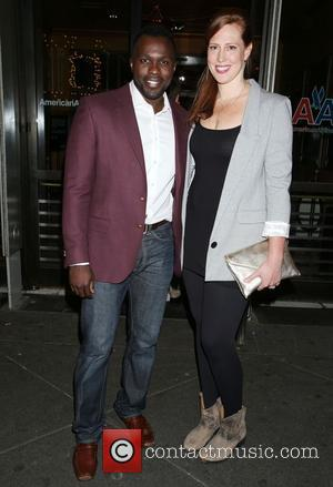 Joshua Henry , Cathryn Stringer - Opening Night of the play Old Times at the American Airlines Theatre - Arrivals...