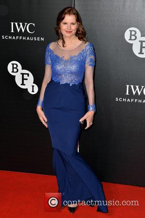 Geena Davis - The British Film Institute's LUMINOUS gala dinner held at Guildhall - Arrivals - London, United Kingdom -...