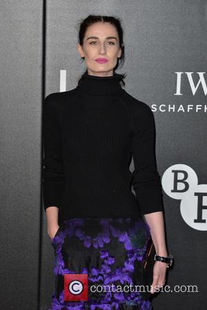 Erin O'Connor - The British Film Institute's LUMINOUS gala dinner held at Guildhall - Arrivals - London, United Kingdom -...