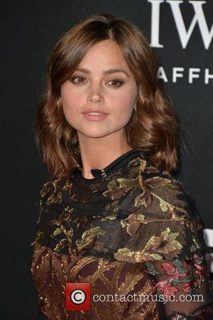 Jenna Coleman - The British Film Institute's LUMINOUS gala dinner held at Guildhall - Arrivals - London, United Kingdom -...