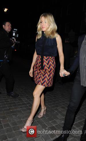 Ellie Goulding - Ellie Goulding and Dougie Poynter arrive at Chiltern Firehouse in Marylebone at Marylebone area, Chiltern firehouse -...