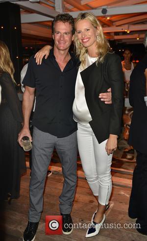 Rande Gerber , Karolina Kurkova - Cindy Crawford's 'Becoming' Book Launch Celebration Party at 1 Hotel South Beach at 1...