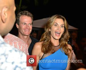 Rande Gerber , Cindy Crawford - Cindy Crawford's 'Becoming' Book Launch Celebration Party at 1 Hotel South Beach at 1...