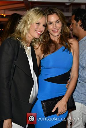 Karolina Kurkova and Cindy Crawford
