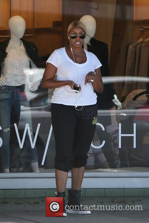 Nene Leakes - Nene Leakes chats on her phone while out in Beverly Hills at Beverly Hills - Los Angeles,...