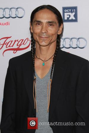 Zahn McClarnon - Premiere of FX's 'Fargo' held at the Arclight Cinemas Hollywood at Arclight Cinemas Hollywood, ArcLight Cinemas -...